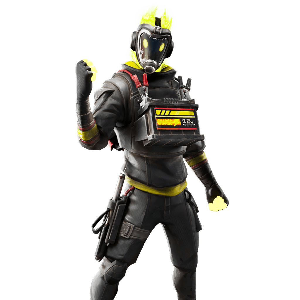 Fortnite v10.30 Leaked Skin - Hotwire