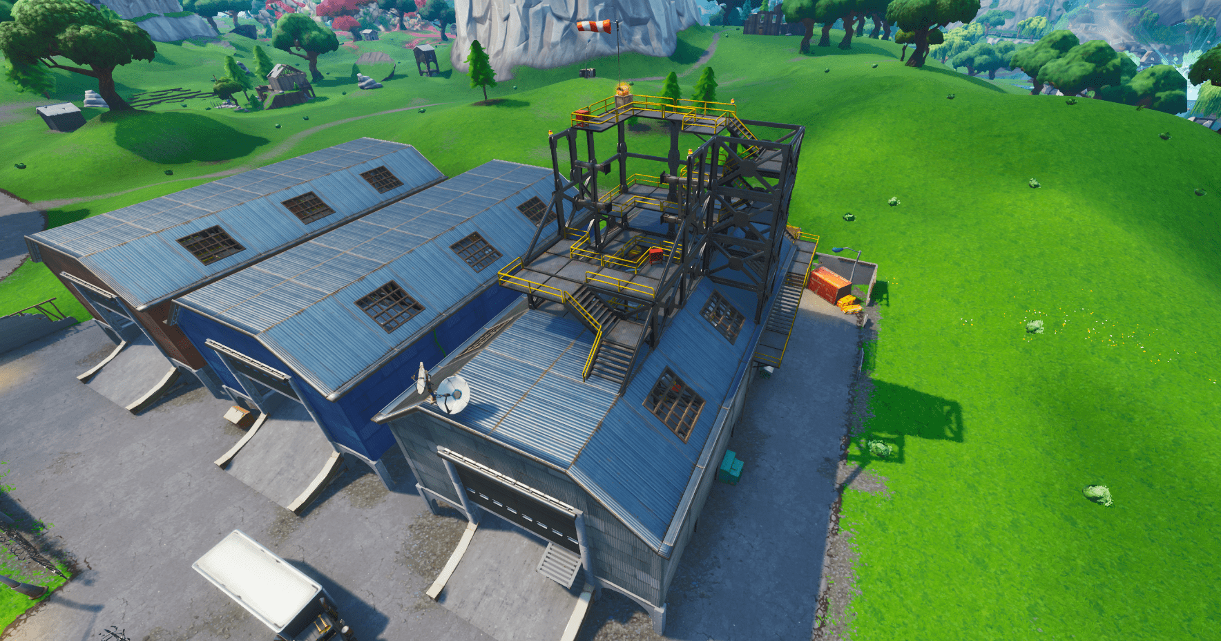Fortnite v10.30 Map Changes - Dusty Depot