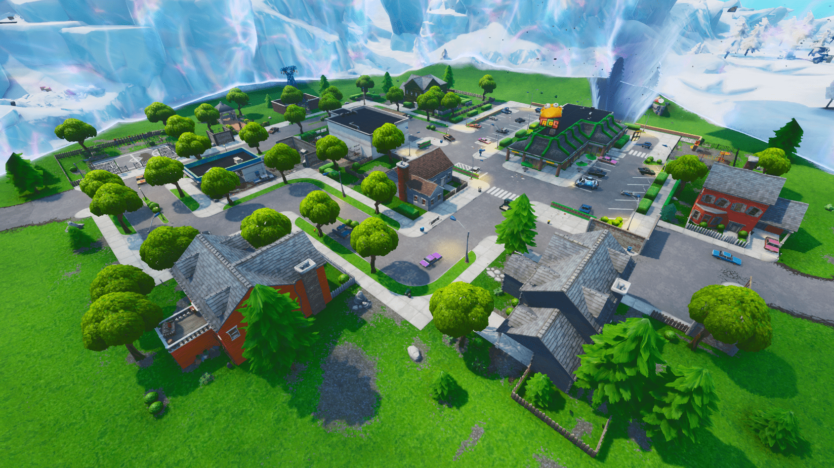 Fortnite v10.30 Map Changes - Greasy Grove