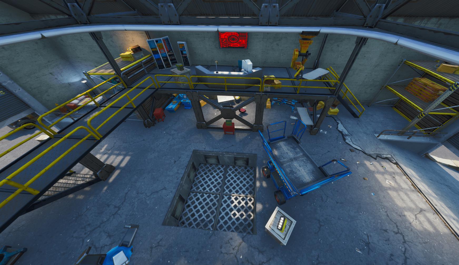 Fortnite v10.30 Map Changes - Inside Dusty Depot