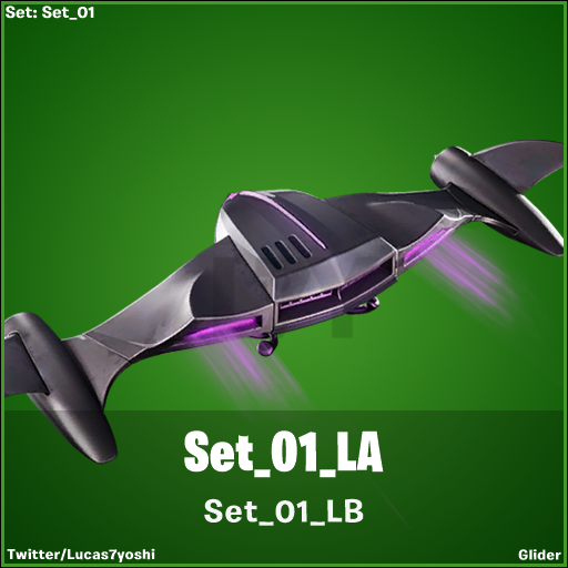 Fortnite v10.31 Leaked Glider