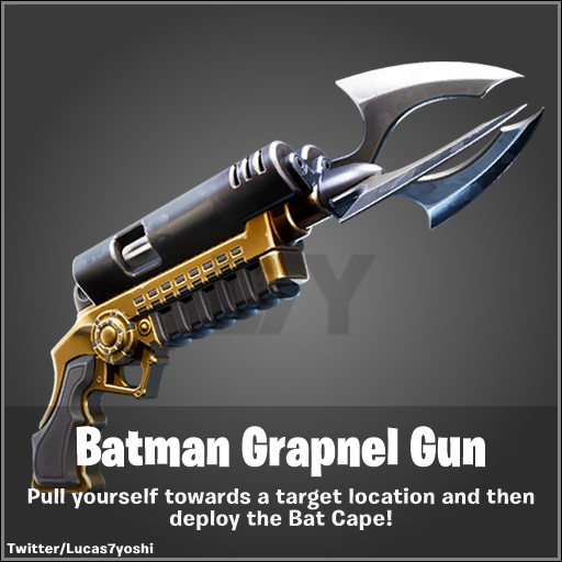 Fortnite v10.31 Leaked Batman Grapnel Gun