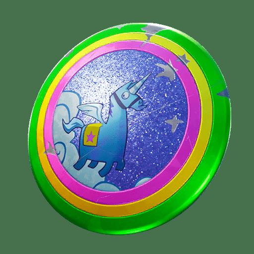 Fortnite v10.40 Leaked Back Bling - Llamacorn Shield
