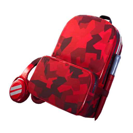 Fortnite v10.40 Leaked Back Bling - Red Alert