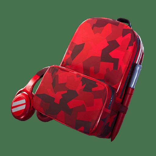 Fortnite v10.40 Leaked Back Bling - Red Alert