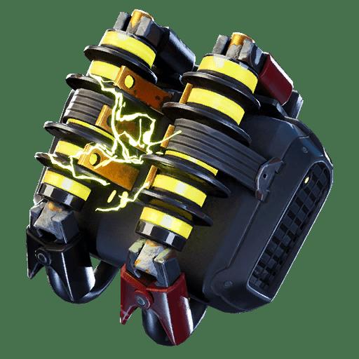 Fortnite v10.40 Leaked Back Bling - Turbocoil
