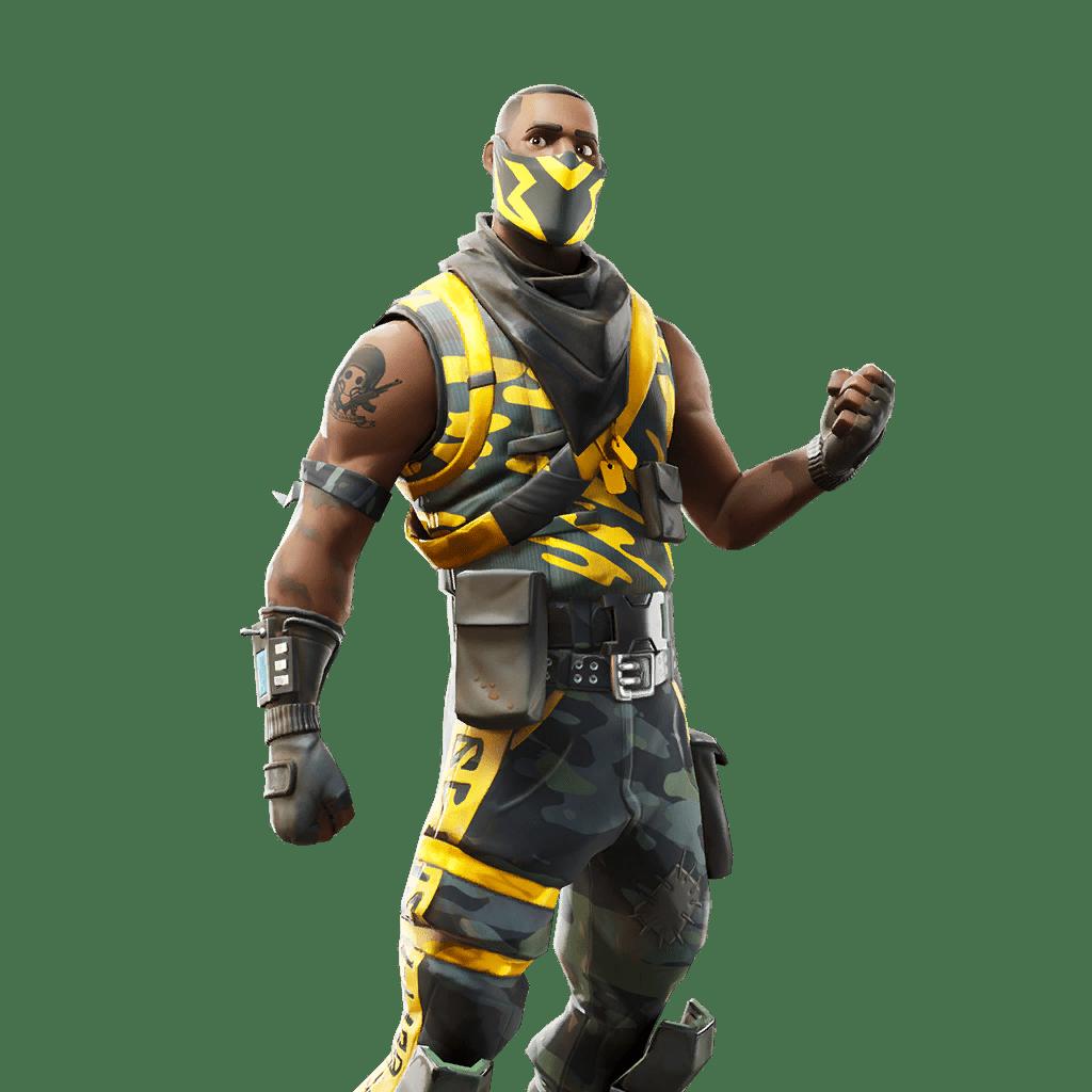 Fortnite v10.40 Leaked Skin - Knockout