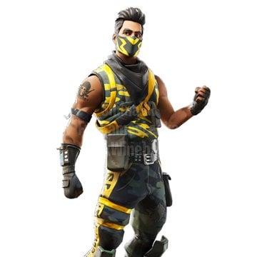 Fortnite v10.40, leaked yellow camouflage skin [19659028] Fortnite v10.40, leaked yellow camo skin 1 </figcaption></figure> <figure id=