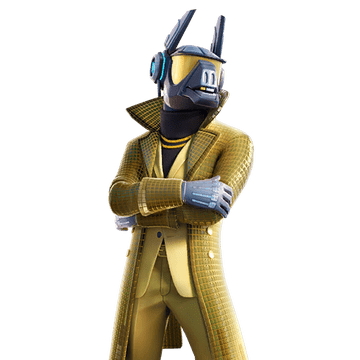 "Fortnite Yond3r Skin Style Overtime ""Out of Time"" Challenge Reward"