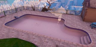 Fortnite way above-ground pool