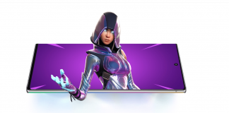 Free Fortnite GLOW Skin for Samsung Galaxy Users