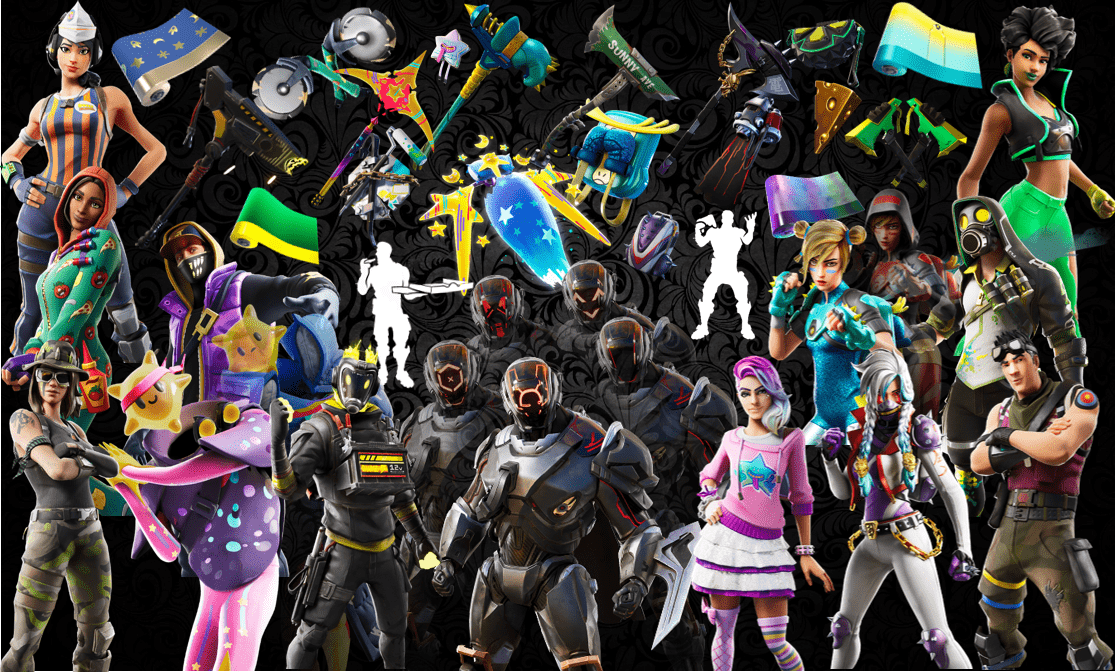 Names and Rarities of All Leaked Fortnite Cosmetics Found in v10.30 Files – Skins, Back Blings, Pickaxes, Gliders, Emotes & Wraps