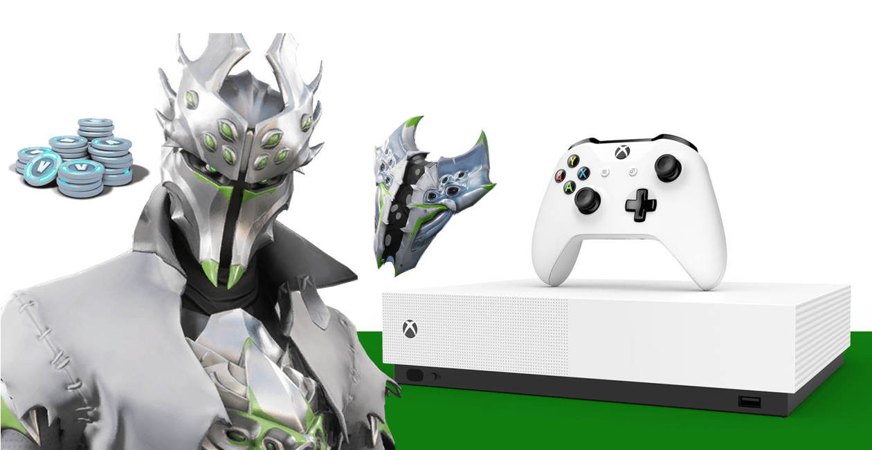 New Fortnite Xbox One S Bundle Contains Leaked Rogue Spider