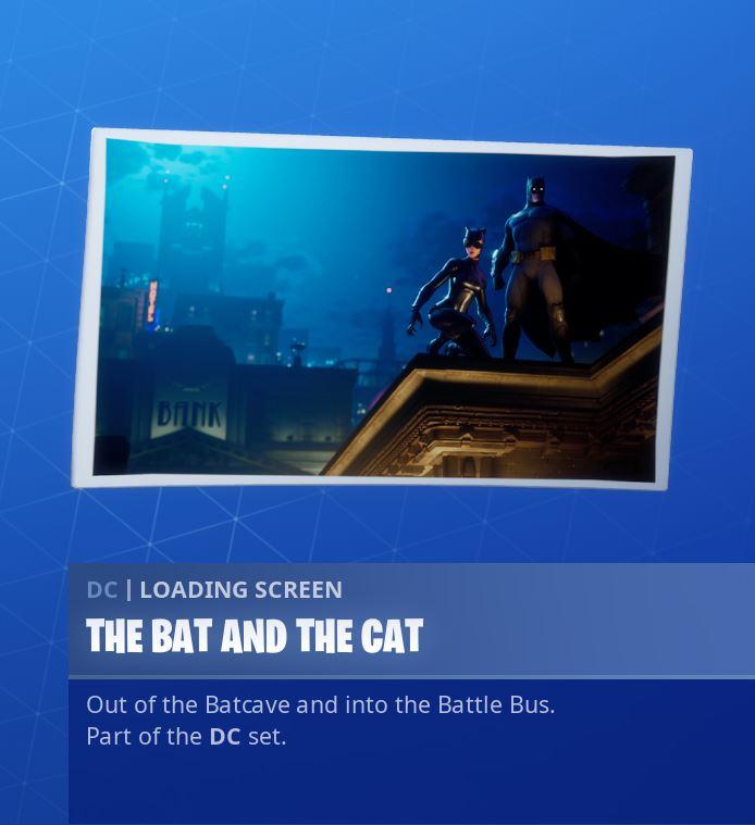 The Bat And The Cat Loading Screen Reward