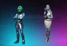 Two New Fortnite Skins Leaked - Area 51 Alien Traveler and Female Love Ranger Cupid Skins