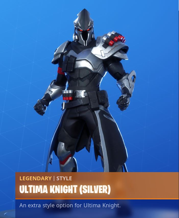 Ultima Knight Silver Style