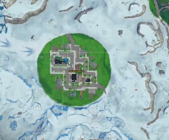 Week 7 summer slurp Fortnite map location Hidden battle Star