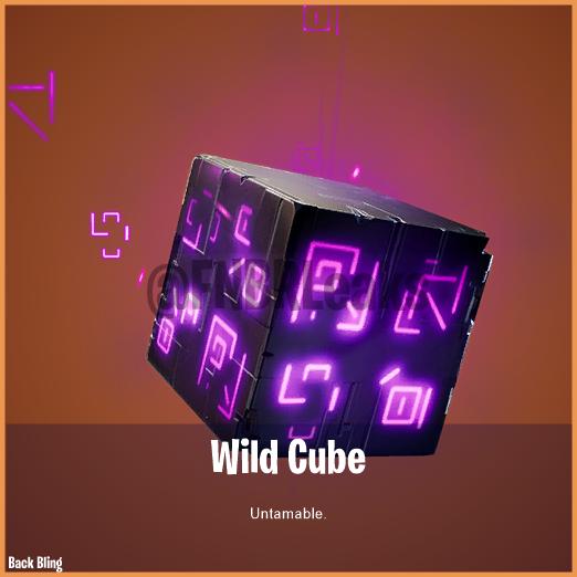 Wild Cube Back Bling