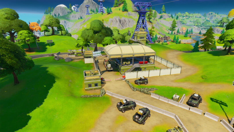Fortnite Hidden 'N' Location: The Lowdown Mission