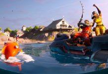 Fortnite Chapter 2- Season 1 Week 2 Open Water Mission Loading Screen