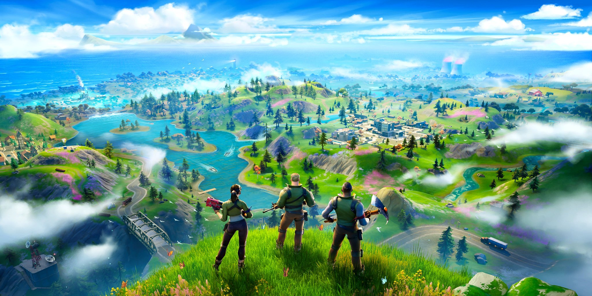 Fortnite Chapter 2 - Season 1 Week 1 New World Loading Screen Reward
