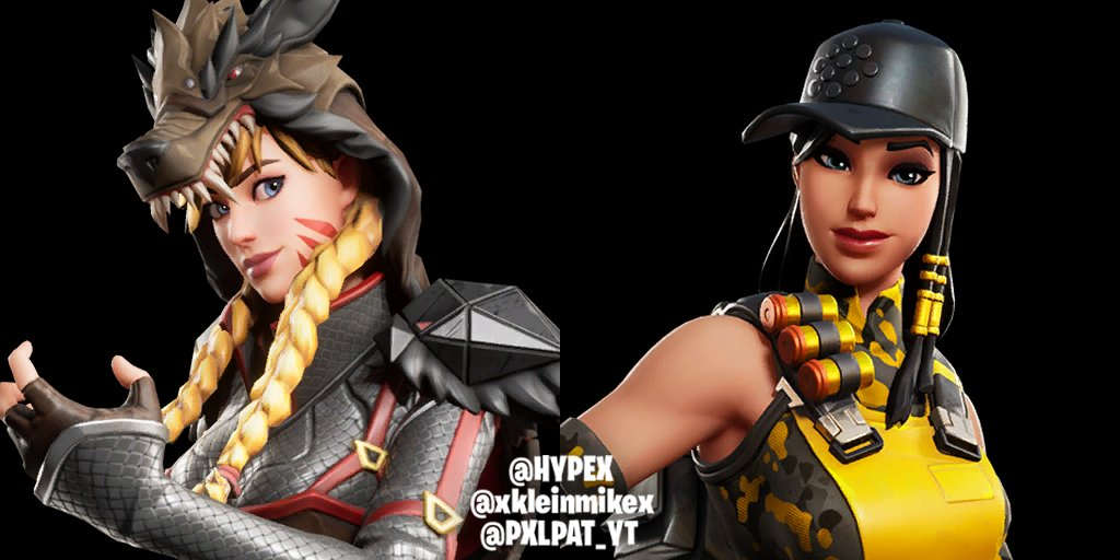 All Fortnite Chapter 2 Season 1 Leaked Skins Cosmetics