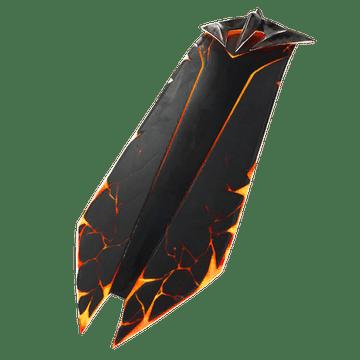 Fortnite Darkfire Bundle Molten Battle Shroud Back Bling