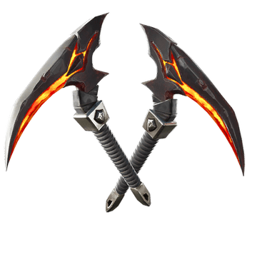 Fortnite Darkfire Bundle Molten Strikers Pickaxe