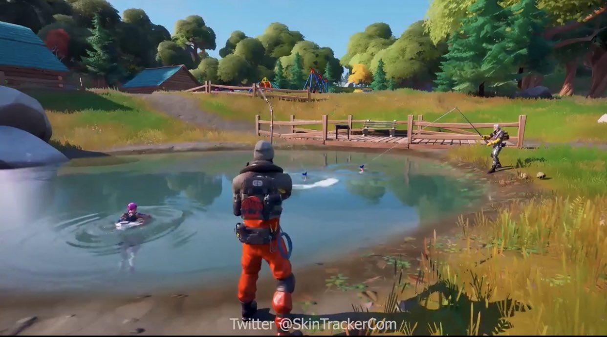 Fortnite Fishing
