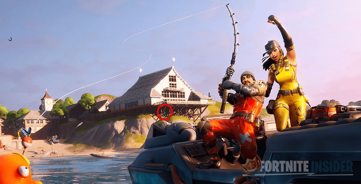 Fortnite Open Water Mission Loading Screen Letter 'O' Clue