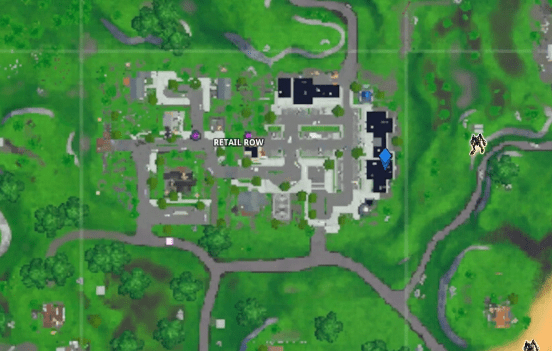Fortnite Season 10 Out of Time Retail Row Visitor Tape Recording Map Location