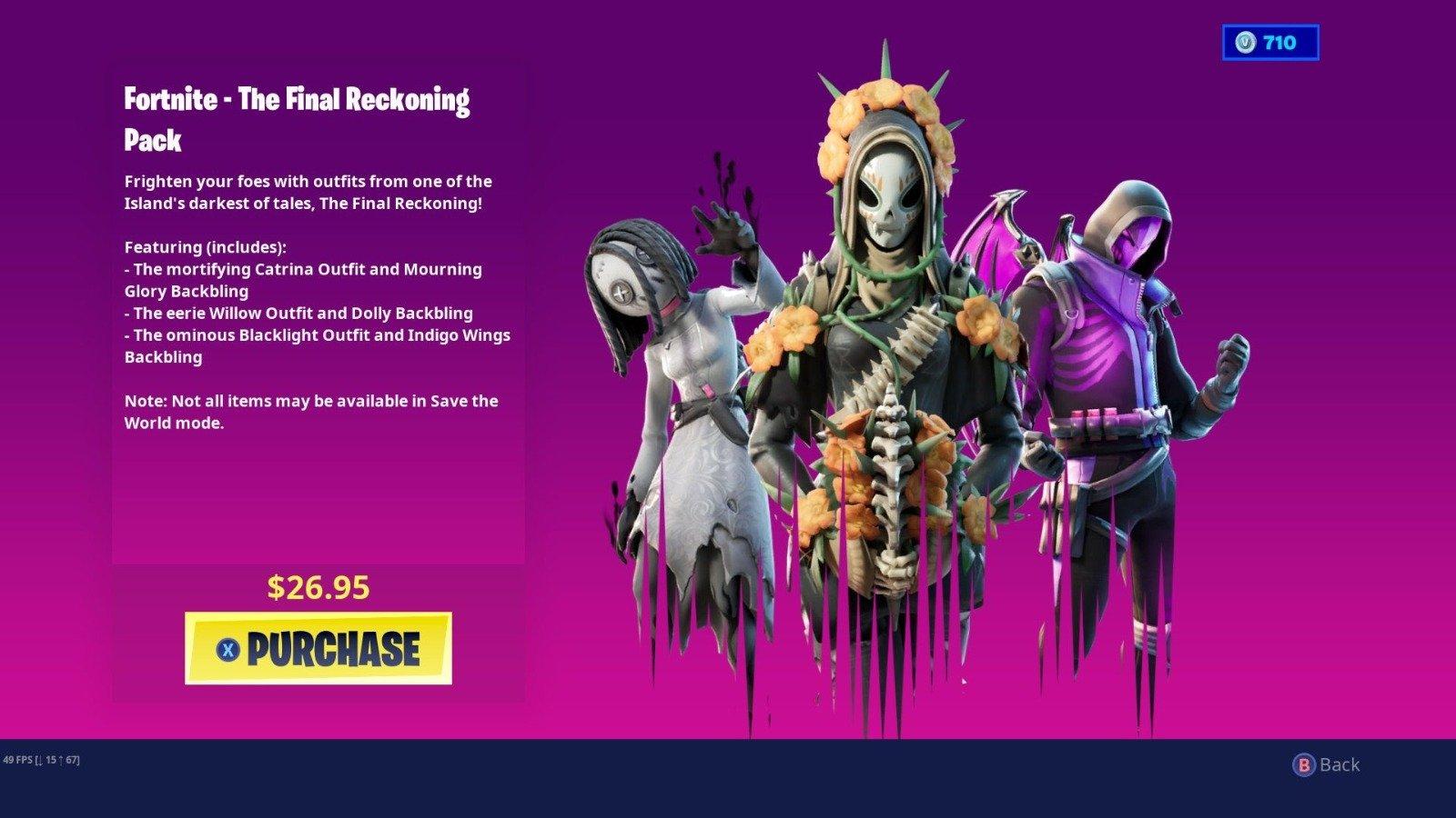 Fortnite The Reckoning Bundle Pack Leaked