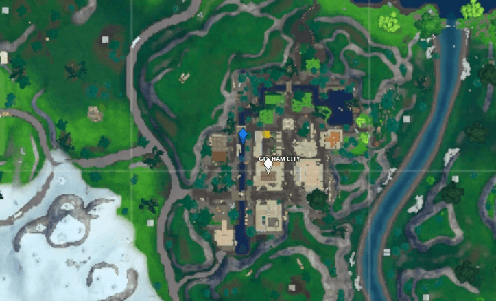 Fortnite Visitor Tape Recording Gotham City Map Location