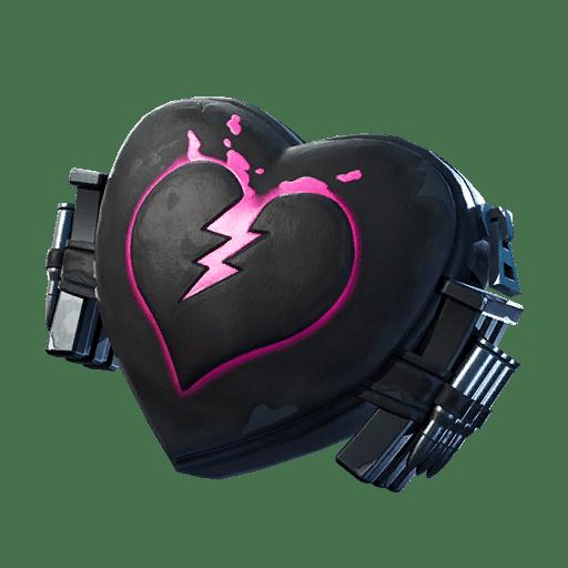 Fortnite v11.00 Leaked Back Bling - Broken Heart