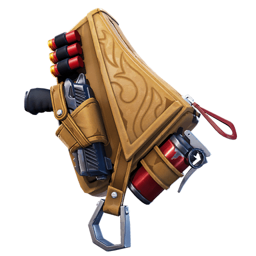 Fortnite v11.00 Leaked Back Bling - Leather Lugger