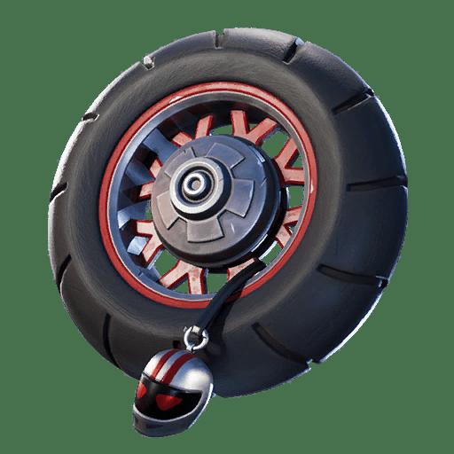 Fortnite v11.00 Leaked Back Bling - Wheelie