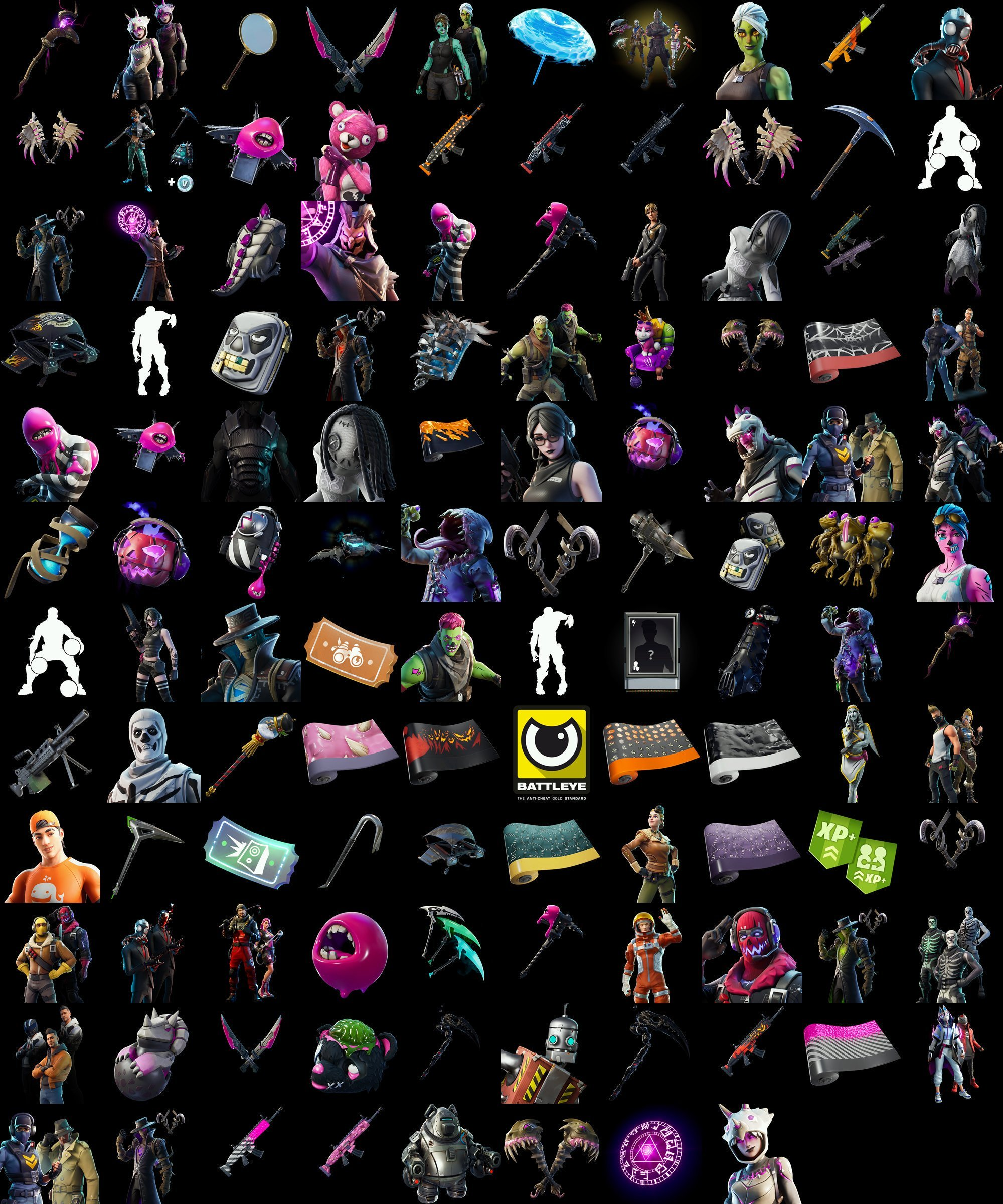 All Fortnite v11.01 Leaked Cosmetics