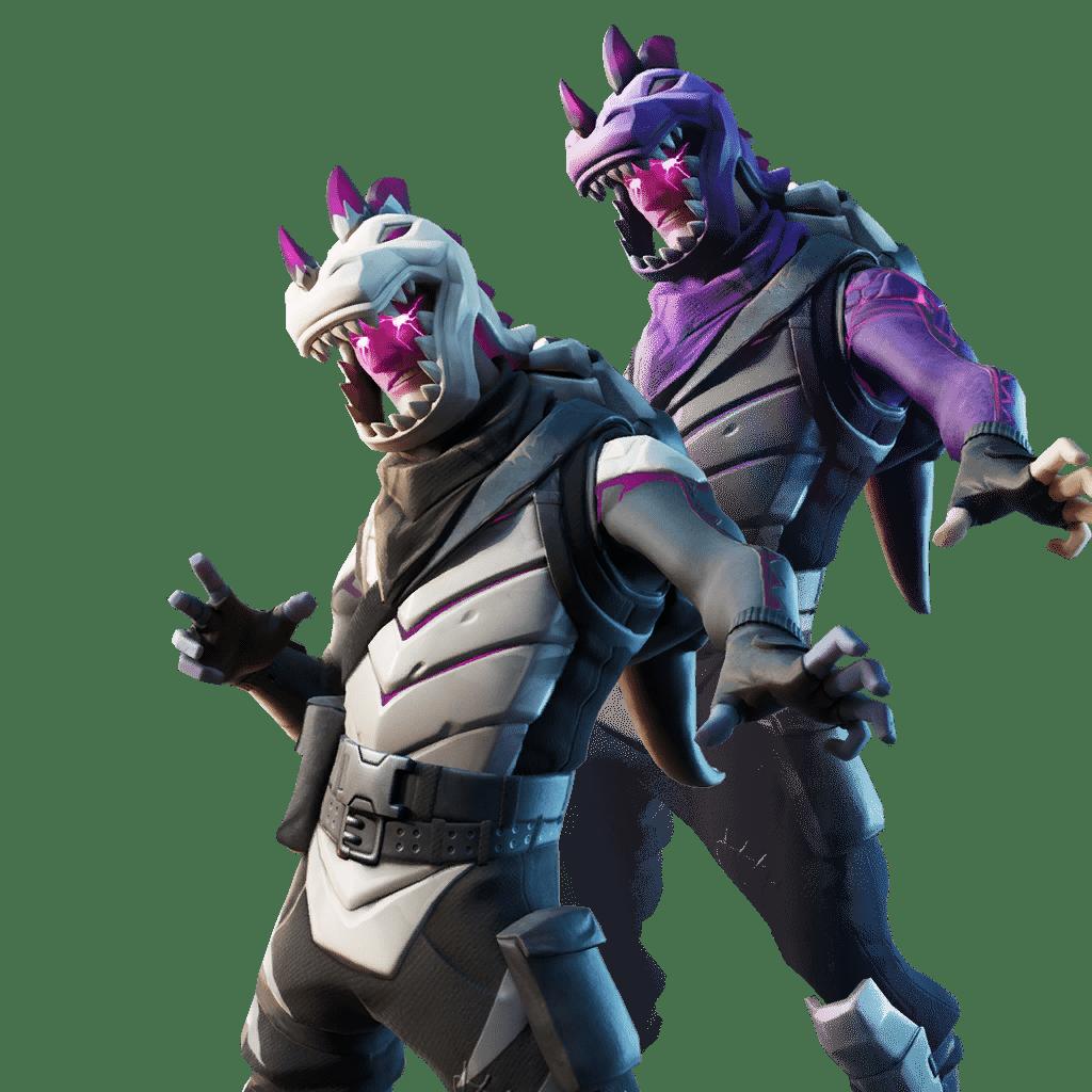 Fortnite v11.01 Leaked Skin - Dark Rex