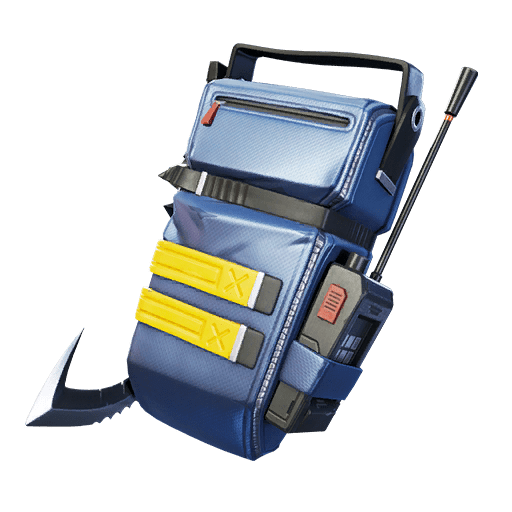 Fortnite v11.10 Leaked Back Bling - Shortwave