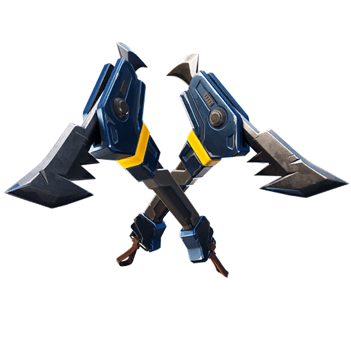Fortnite v11.10 Leaked Pickaxe - Piranhas