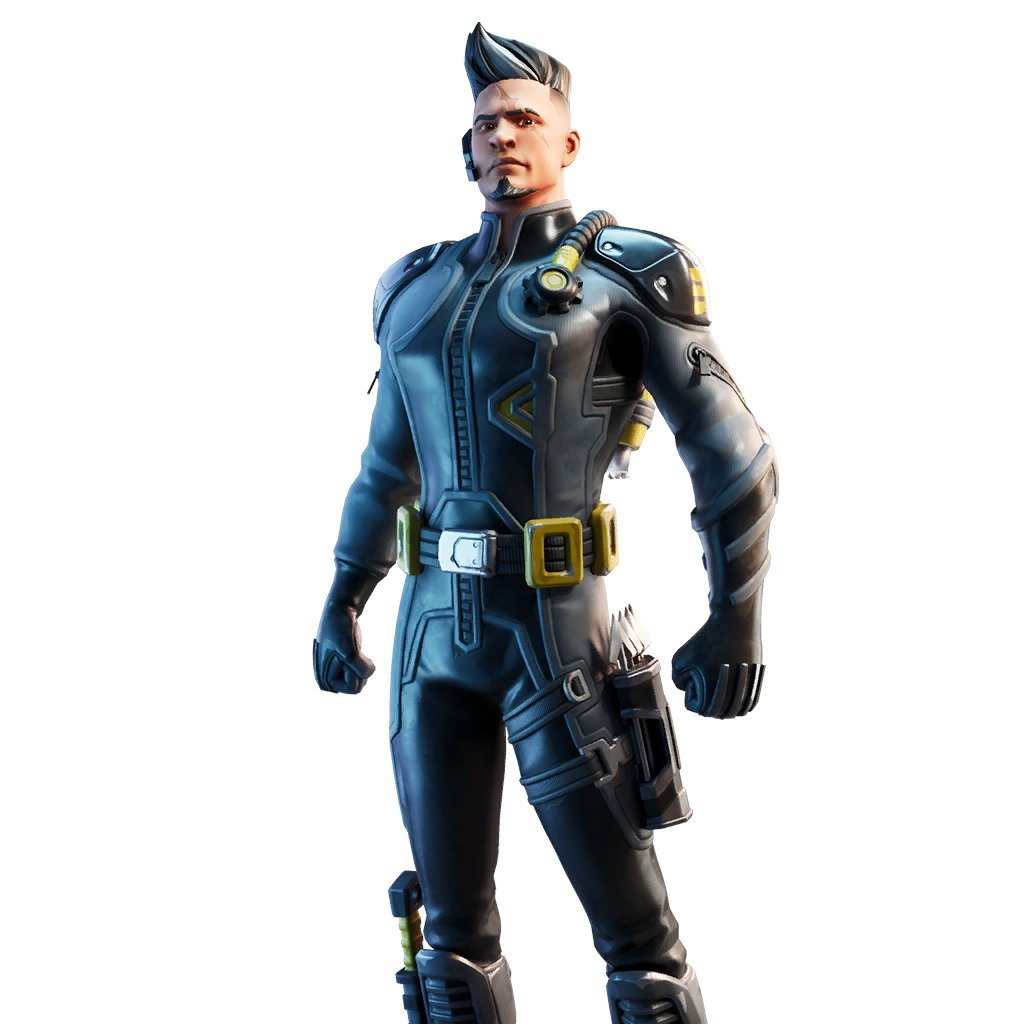 Fortnite v11.10 Leaked Skin