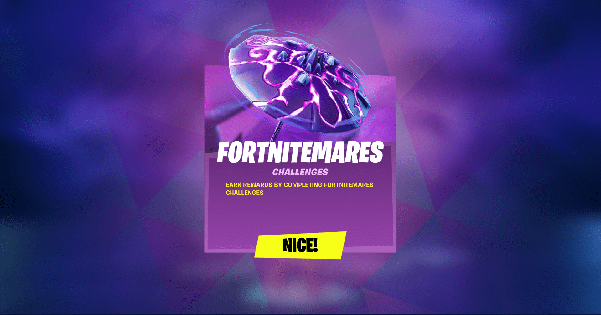 Fortnitemares Challenges Now Live