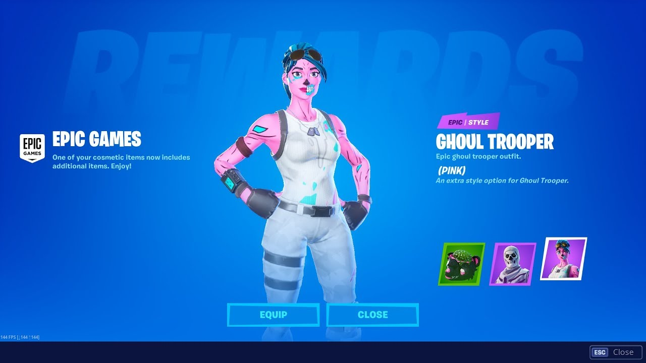 fortnite ghoul trooper teaser confirms skin will be in