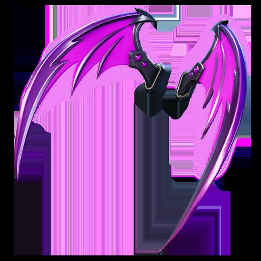 Indigo Wings Back Bling