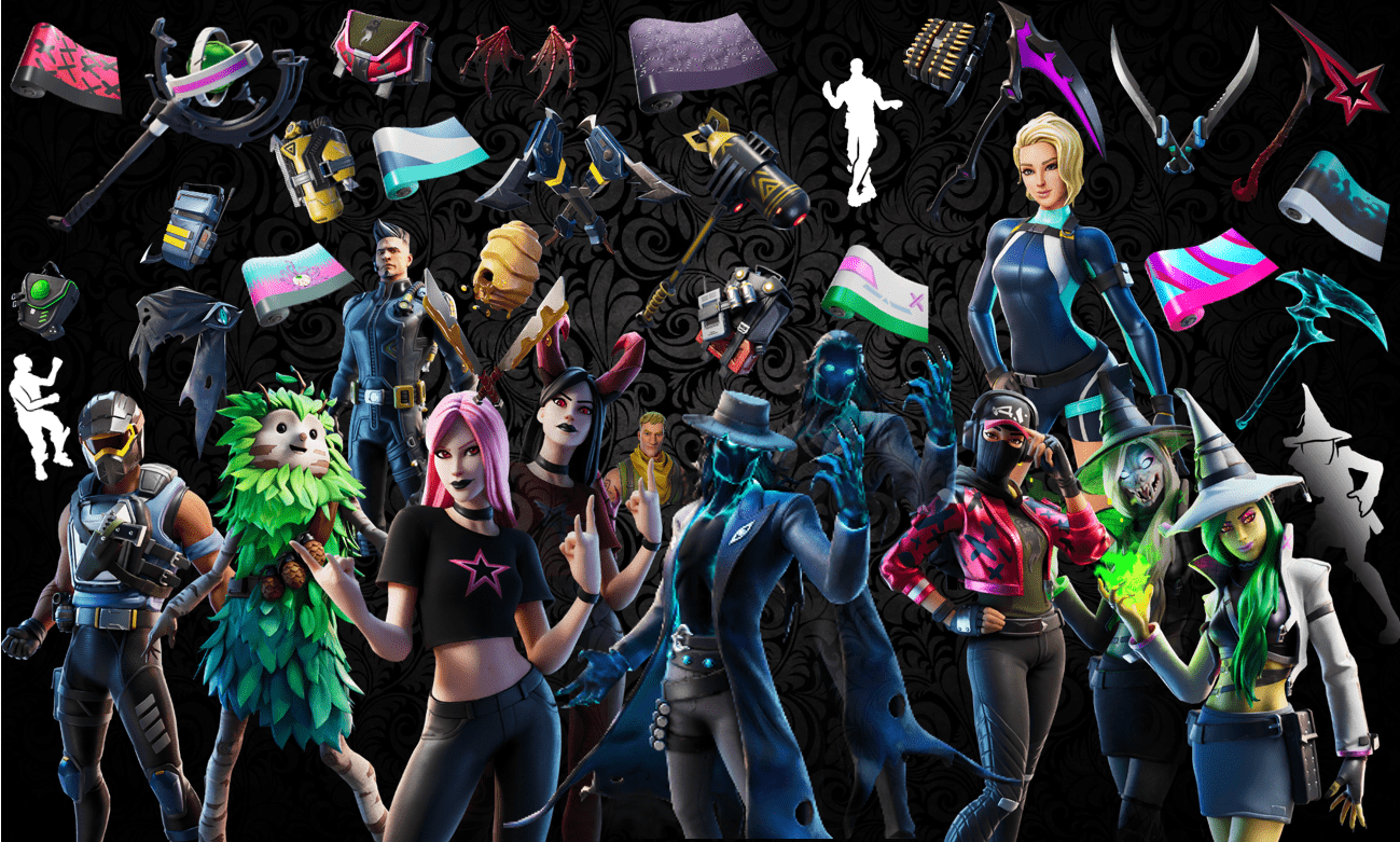Names and Rarities of All Leaked Fortnite Cosmetics Found in v11.10 Files – Skins, Back Blings, Pickaxes, Emotes & Wraps