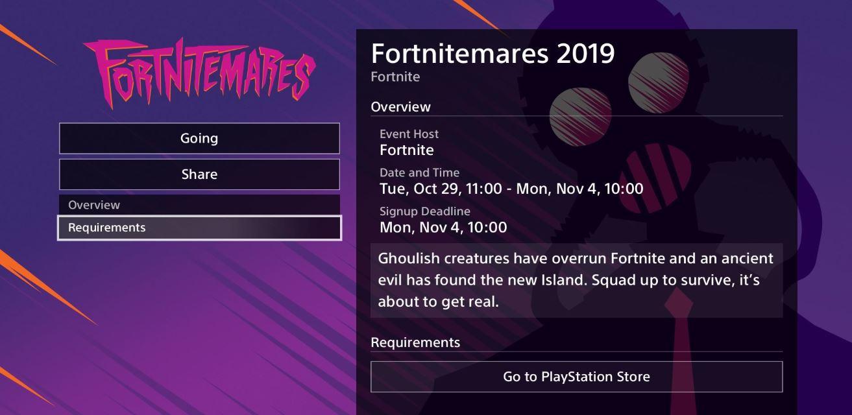 fortnitemares event description