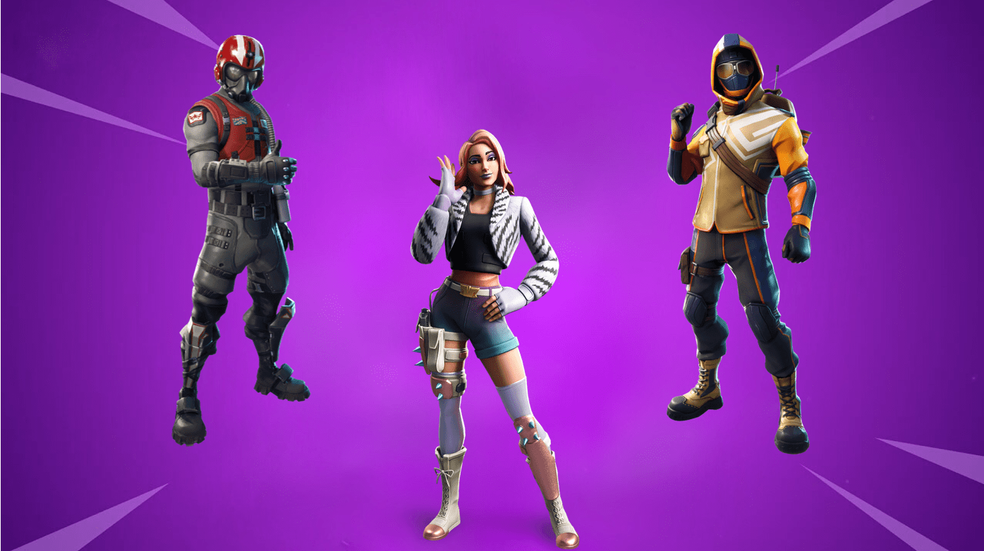 All Fortnite Starter Pack Skins Released As Of November 3rd