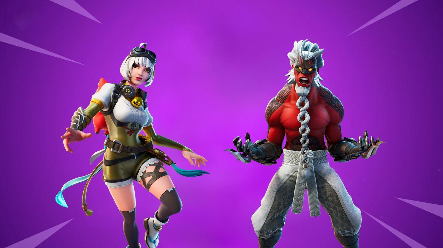 Battle Breakers Fortnite Skins