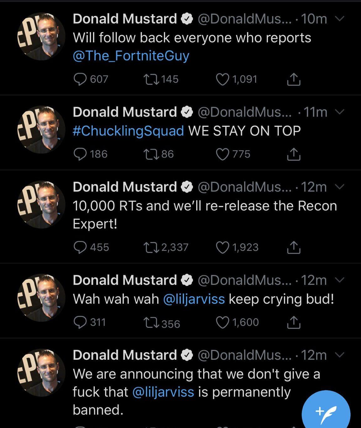 Donald Mustard hacked