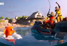 FORTNITE FISHING FRENZY